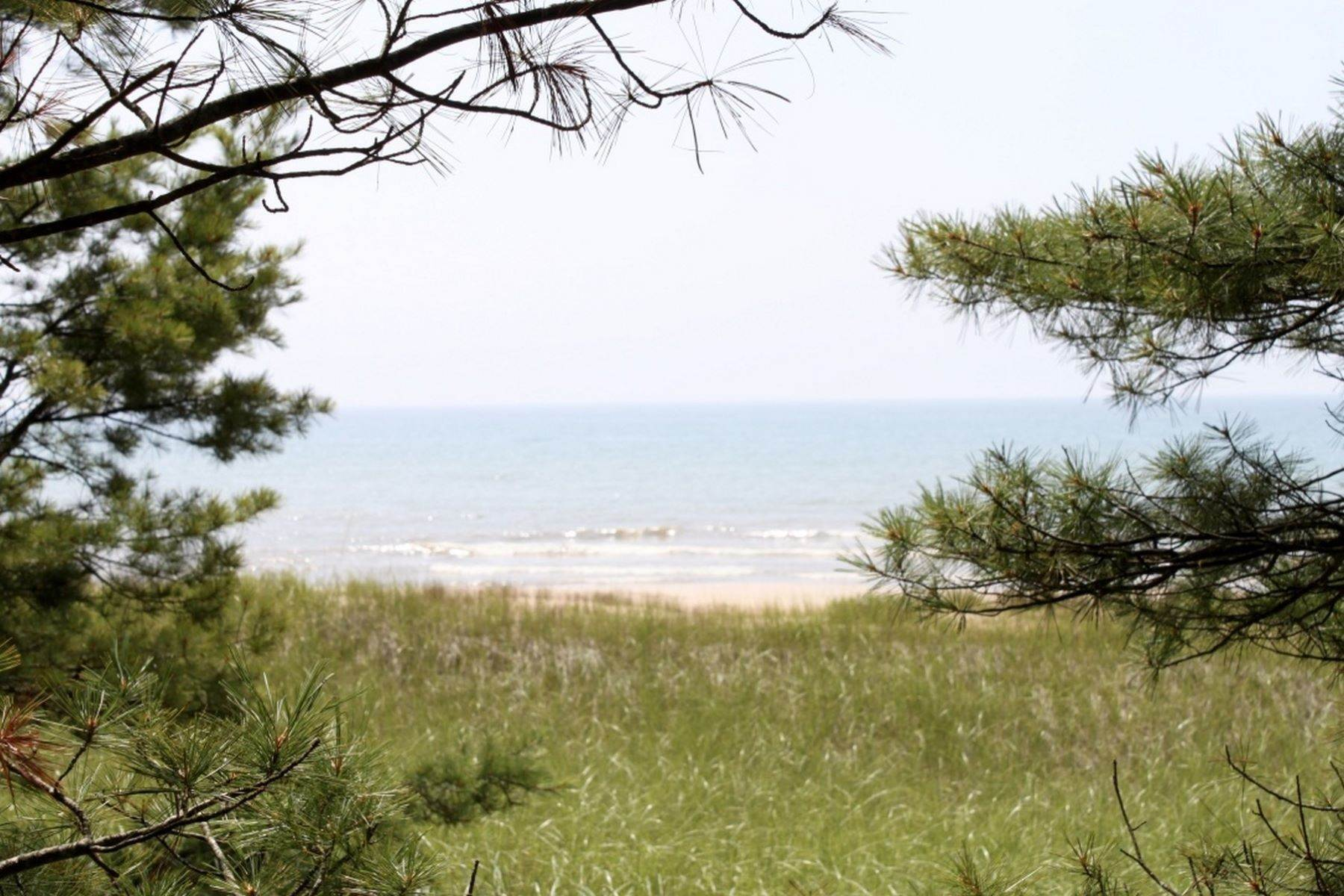 9. Single Family Homes for Sale at 2 Miles of Lake Michigan Waterfront 2625 W. Top O the Lake Road Gulliver, Michigan 49840 United States