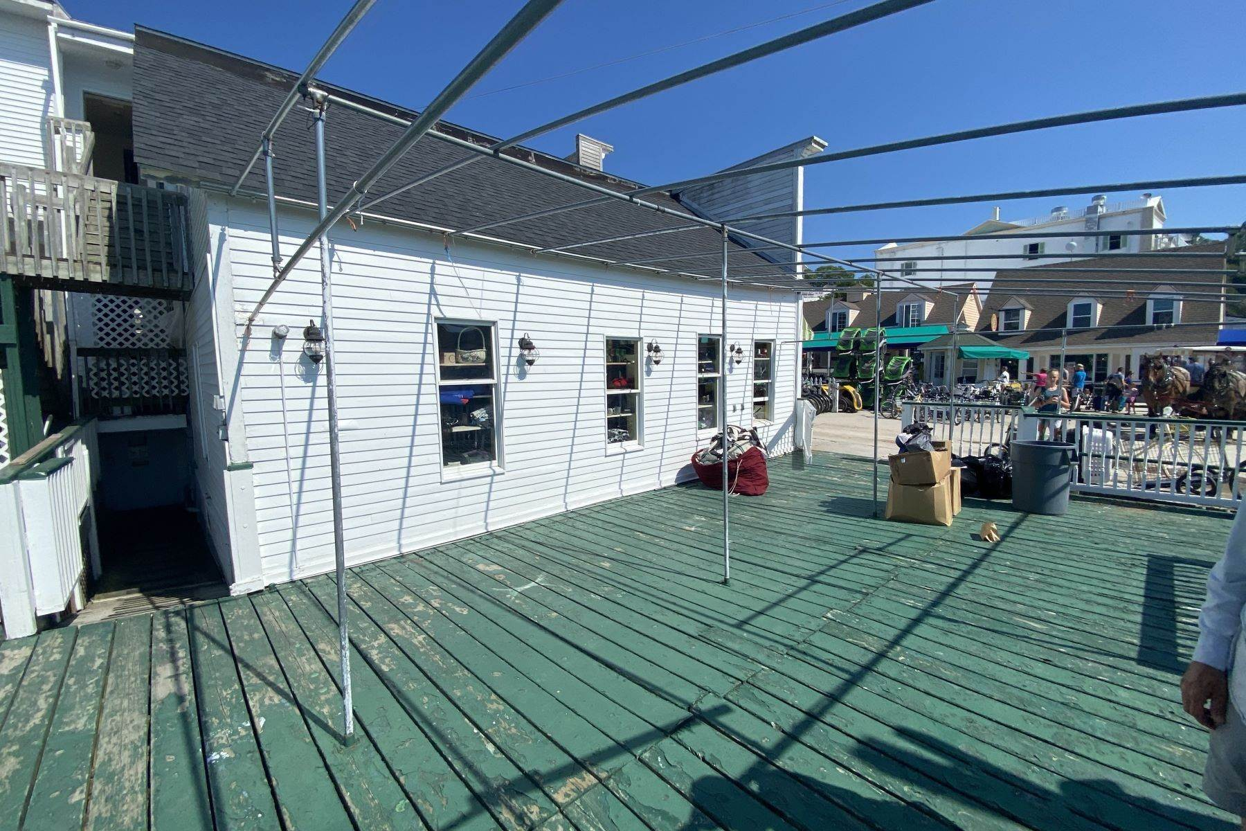 8. Commercial for Sale at Waterfront commercial building on Mackinac Island with retail space 7293 & 7279 Main Street Mackinac Island, Michigan 49757 United States