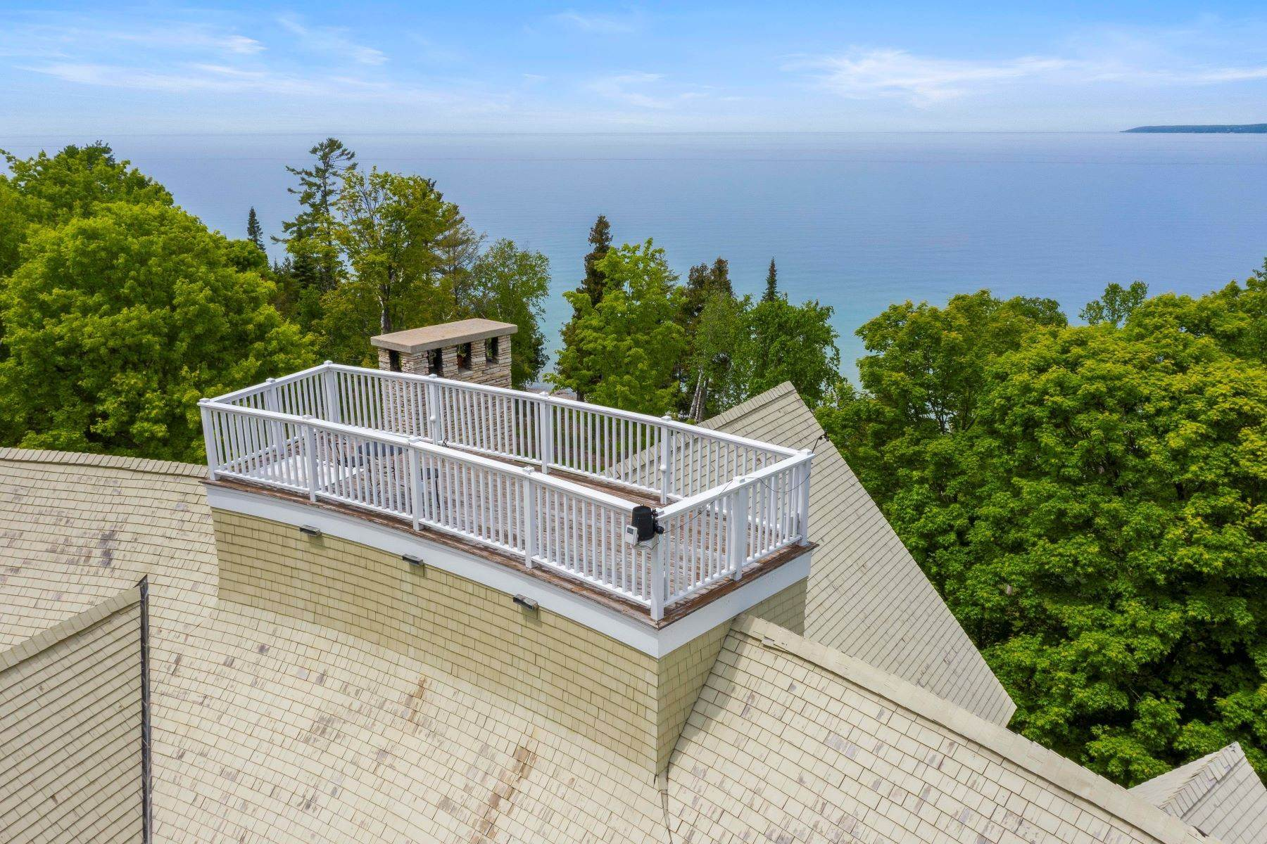 37. Single Family Homes for Sale at Private Lake Michigan Estate 6744 Preserve Drive North Bay Harbor, Michigan 49770 United States
