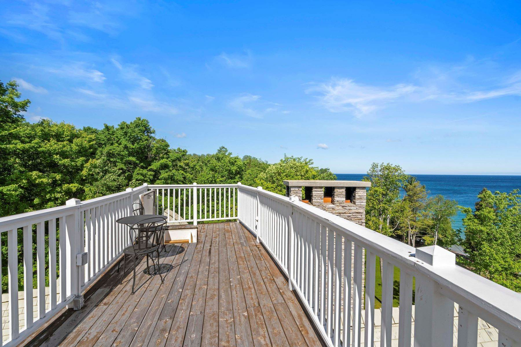 39. Single Family Homes for Sale at Private Lake Michigan Estate 6744 Preserve Drive North Bay Harbor, Michigan 49770 United States