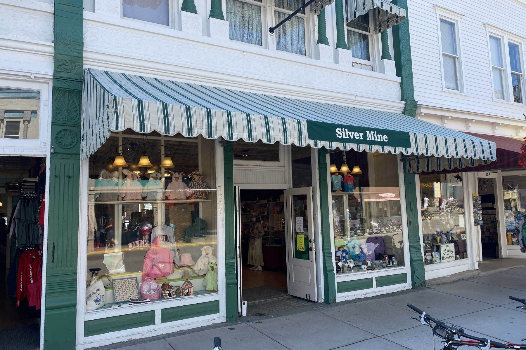 14. Commercial for Sale at Waterfront commercial building on Mackinac Island with retail space 7293 & 7279 Main Street Mackinac Island, Michigan 49757 United States