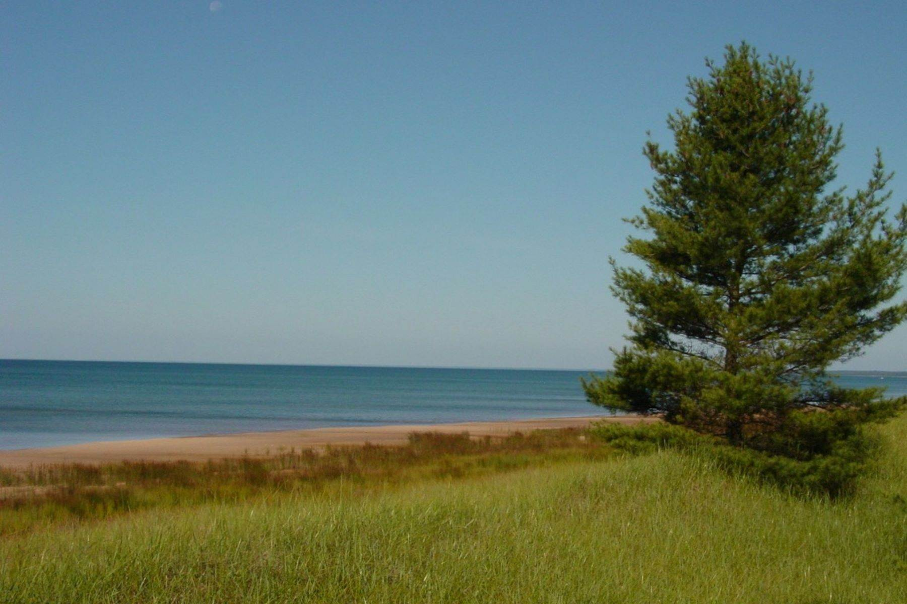 8. Single Family Homes for Sale at 2 Miles of Lake Michigan Waterfront 2625 W. Top O the Lake Road Gulliver, Michigan 49840 United States