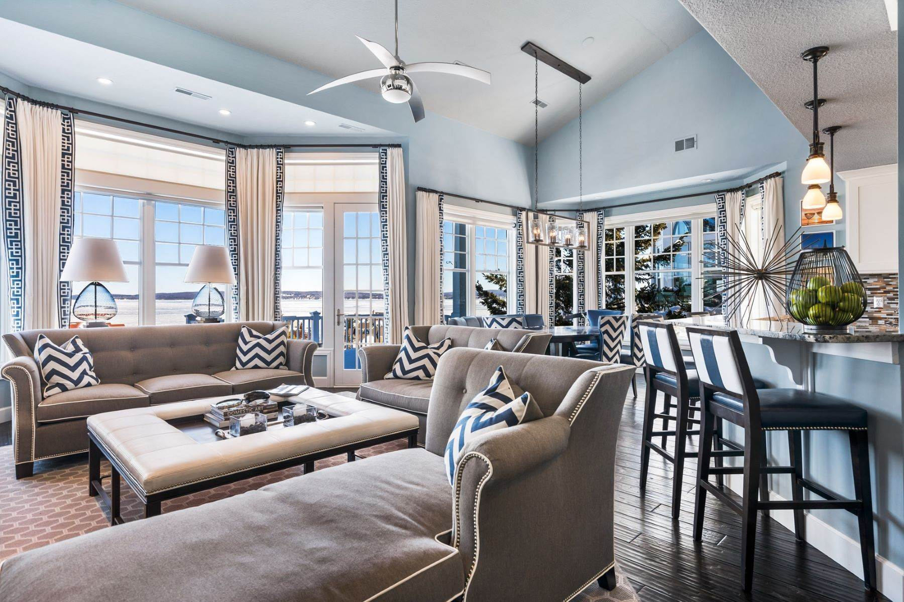 Condominiums for Sale at Professional decorated turn-key condo with view of Lake Michigan 3568 Cliffs Drive Bay Harbor, Michigan 49770 United States