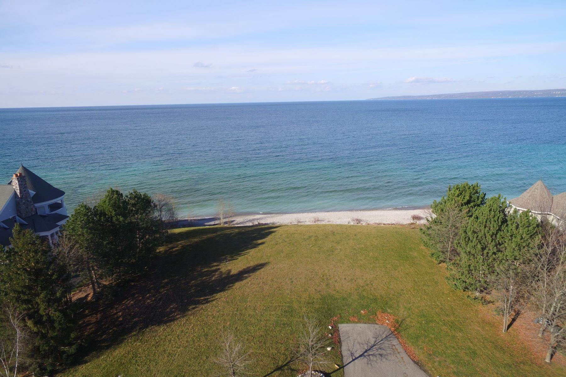 14. Land for Sale at Double sided lot on Lake Michigan 4480 Shores Drive Bay Harbor, Michigan 49770 United States