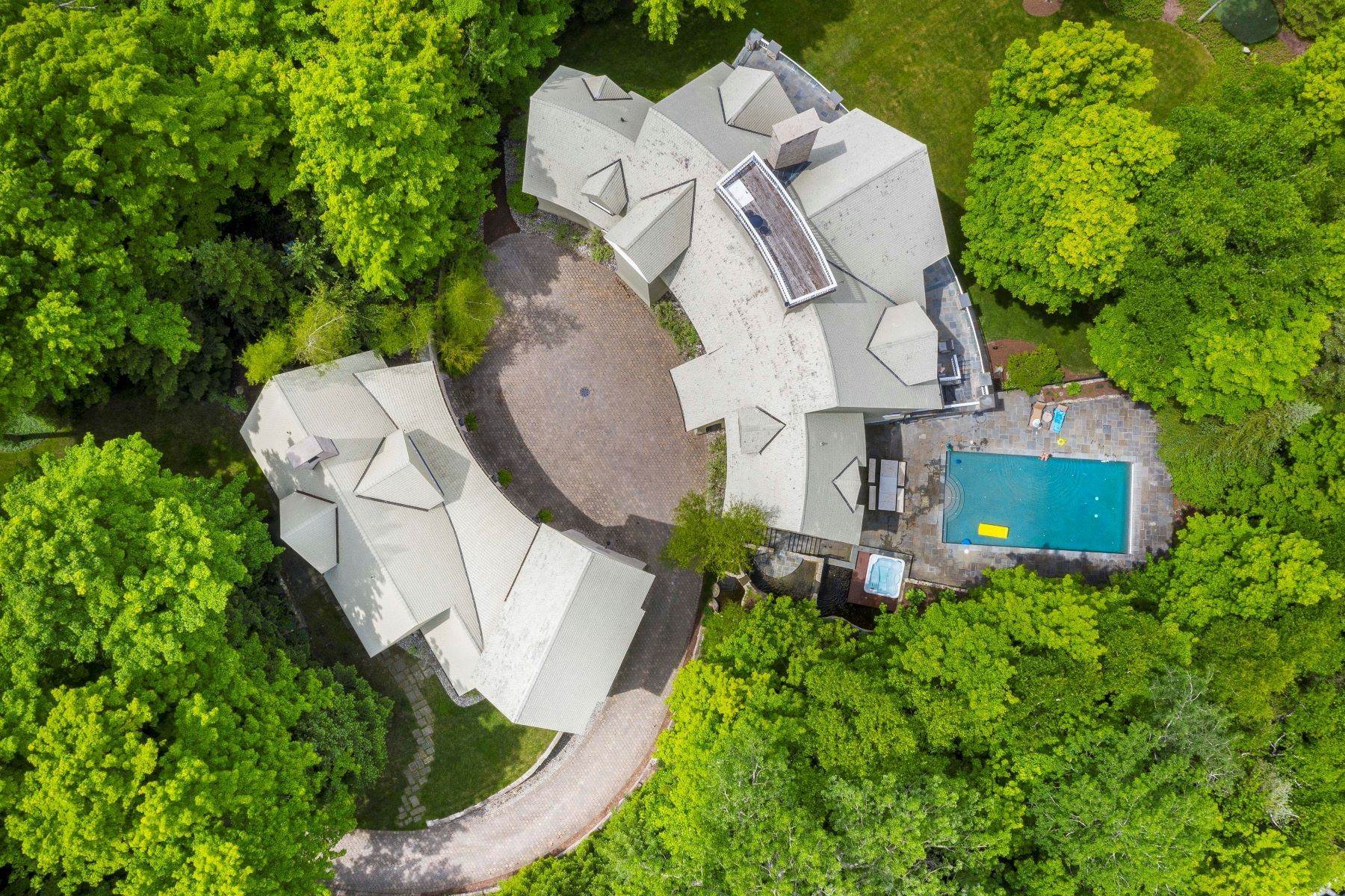 40. Single Family Homes for Sale at Private Lake Michigan Estate 6744 Preserve Drive North Bay Harbor, Michigan 49770 United States