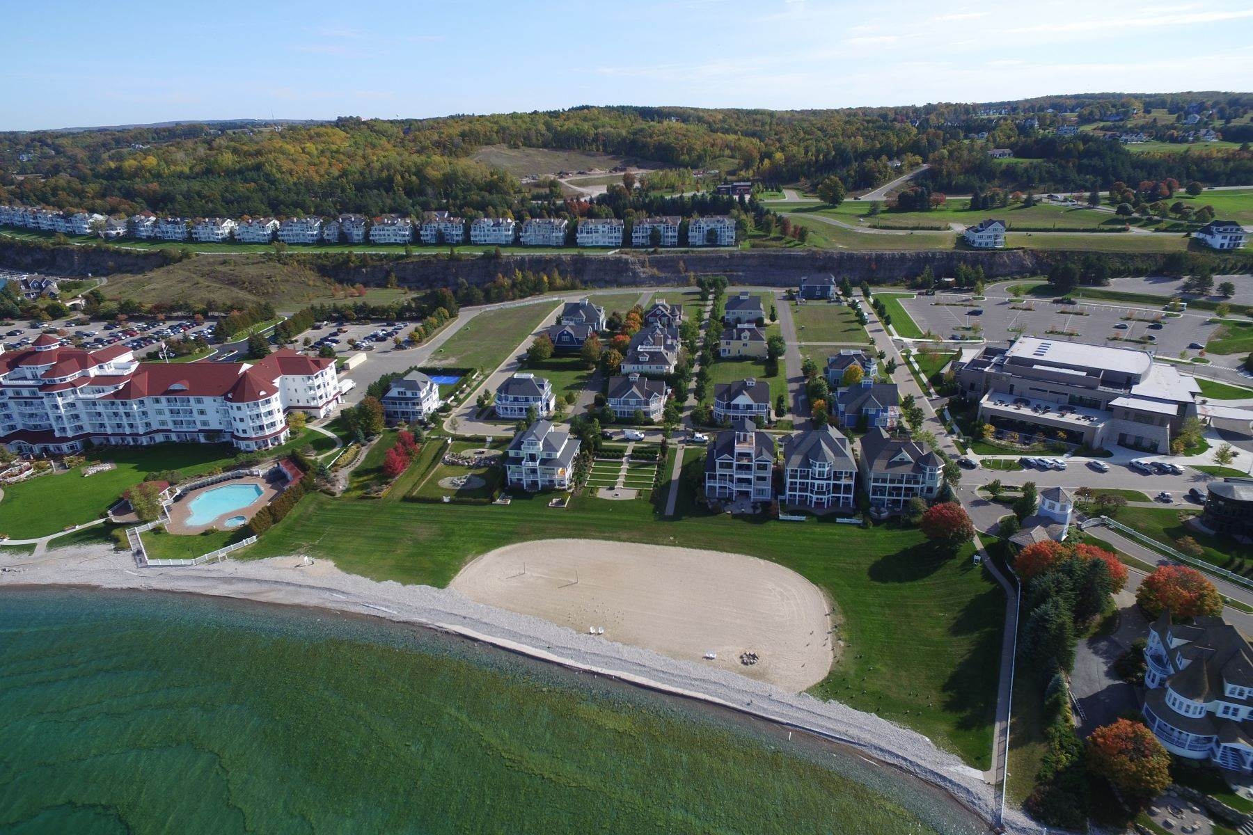 Land for Sale at Village Beach homesite 716 East Beach Street Bay Harbor, Michigan 49770 United States