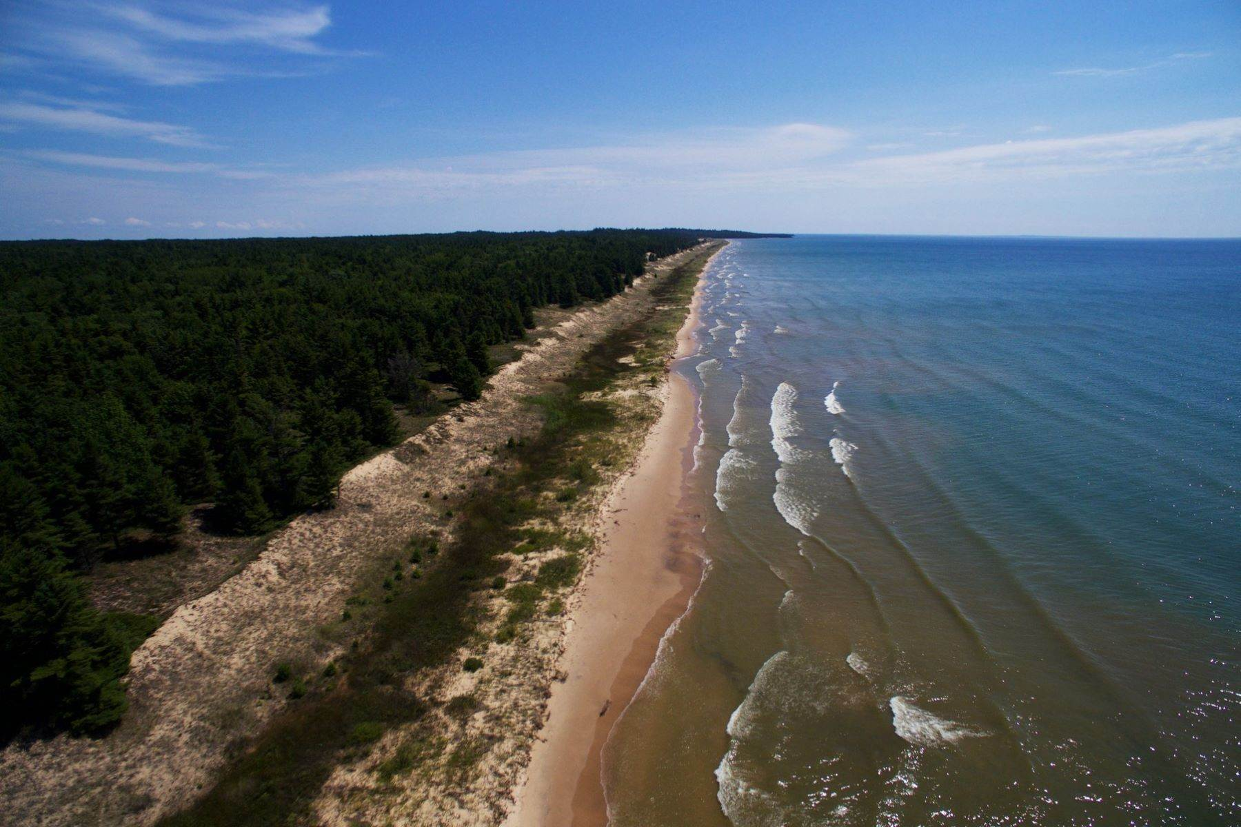 5. Single Family Homes for Sale at 2 Miles of Lake Michigan Waterfront 2625 W. Top O the Lake Road Gulliver, Michigan 49840 United States