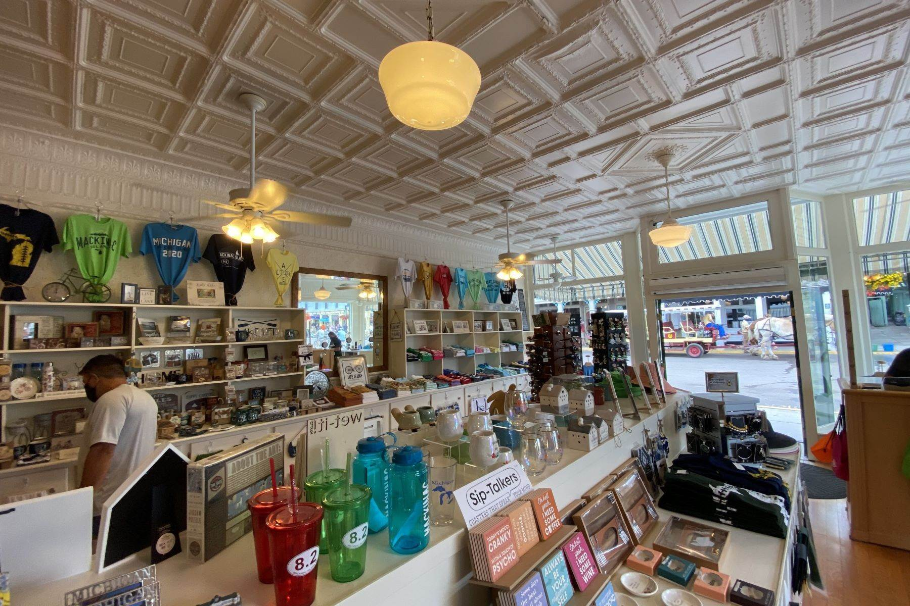 19. Commercial for Sale at Waterfront commercial building on Mackinac Island with retail space 7293 & 7279 Main Street Mackinac Island, Michigan 49757 United States