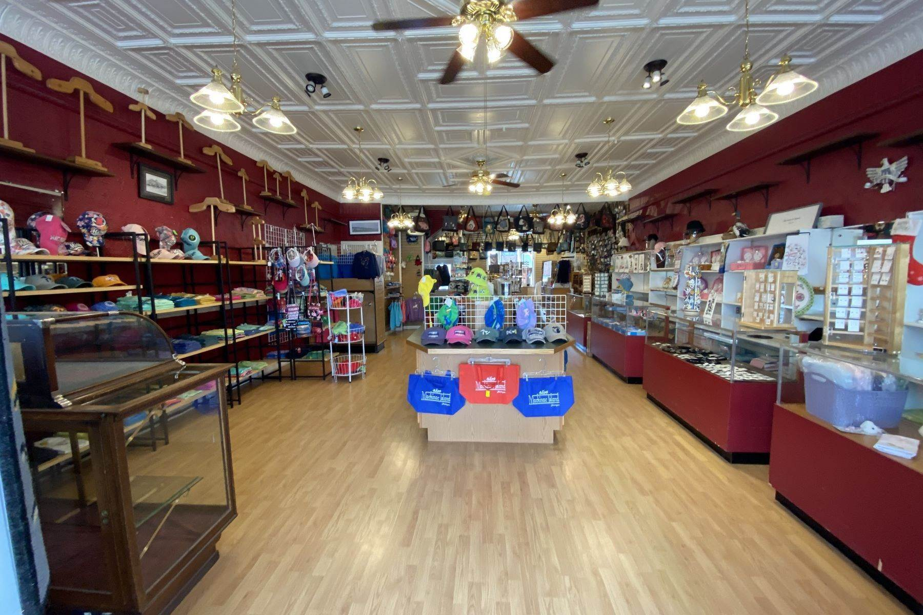 16. Commercial for Sale at Waterfront commercial building on Mackinac Island with retail space 7293 & 7279 Main Street Mackinac Island, Michigan 49757 United States