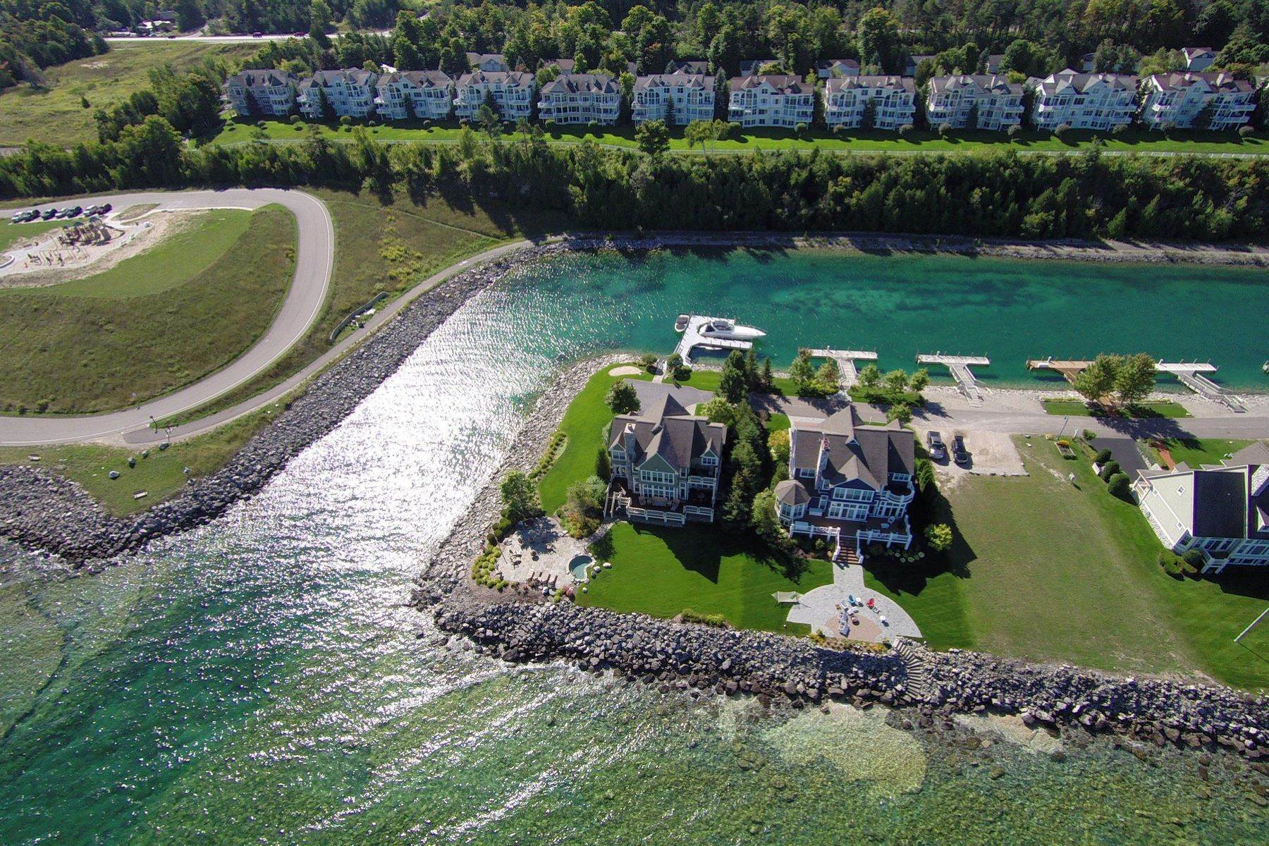 9. Property for Sale at Protected Lake Michigan dock Unit 15 Village Harbor Docks Bay Harbor, Michigan 49770 United States
