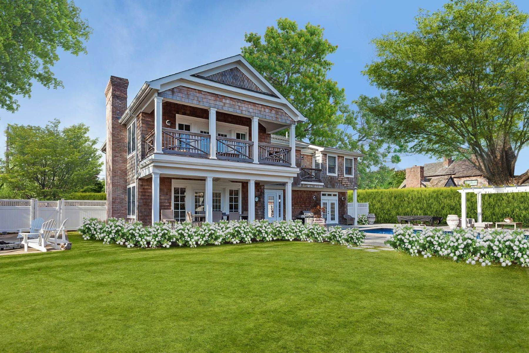 Single Family Homes at Gorgeous Custom in Water Mill South 107 Narod Boulevard Water Mill, New York 11976 United States