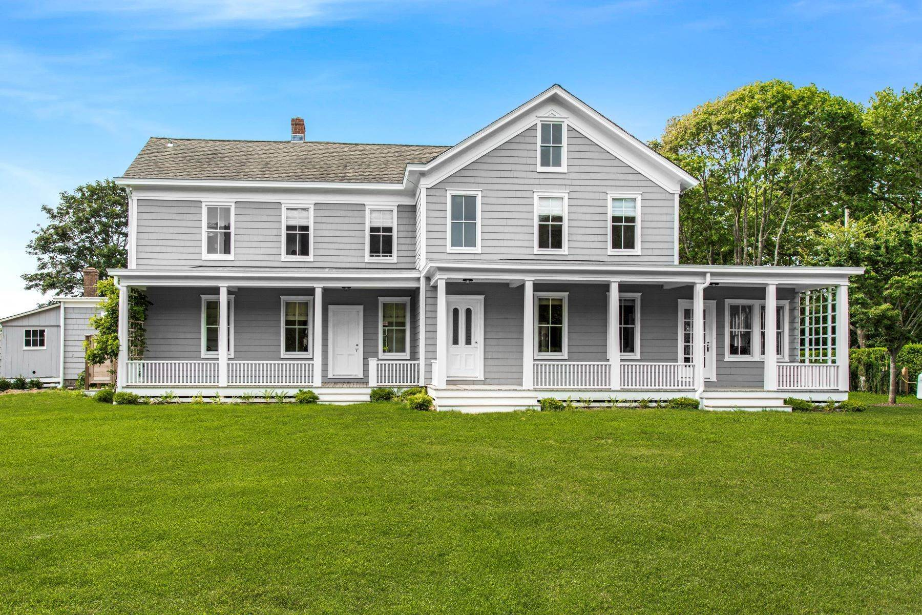 Single Family Homes at SAGAPONACK WITH POOL NEAR BEACH 1035 Sagg Main Street Sagaponack, New York 11962 United States
