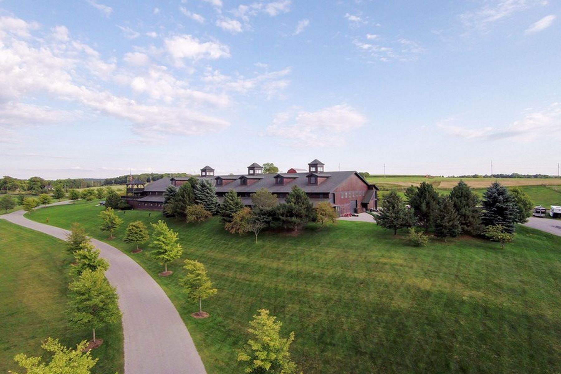 Farm and Ranch Properties for Sale at Equestrian Masterpiece 5251 Charlevoix Road Petoskey, Michigan 49770 United States